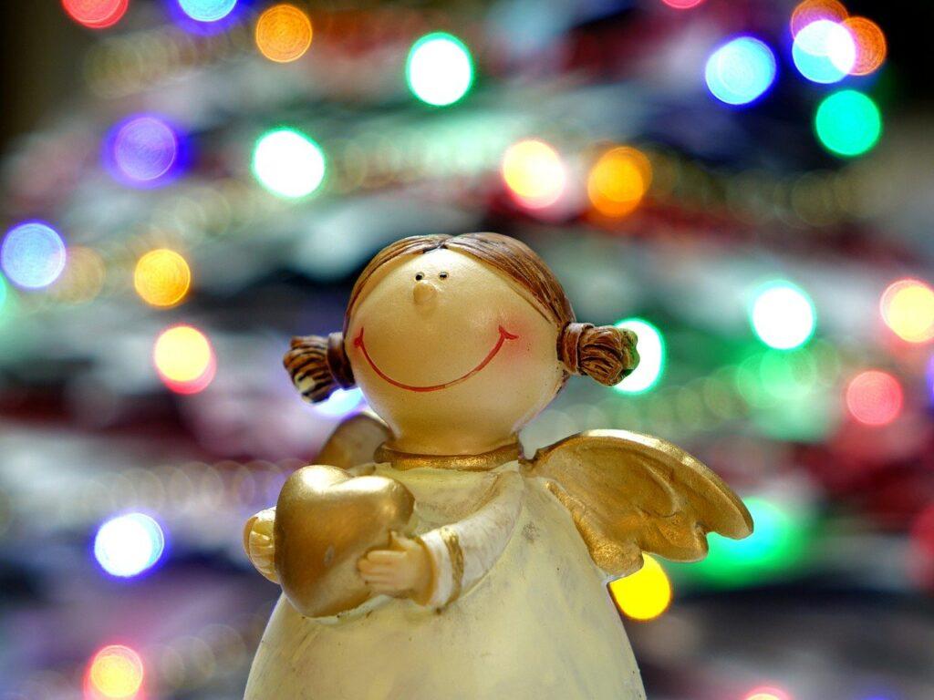 angel, figurine, christman