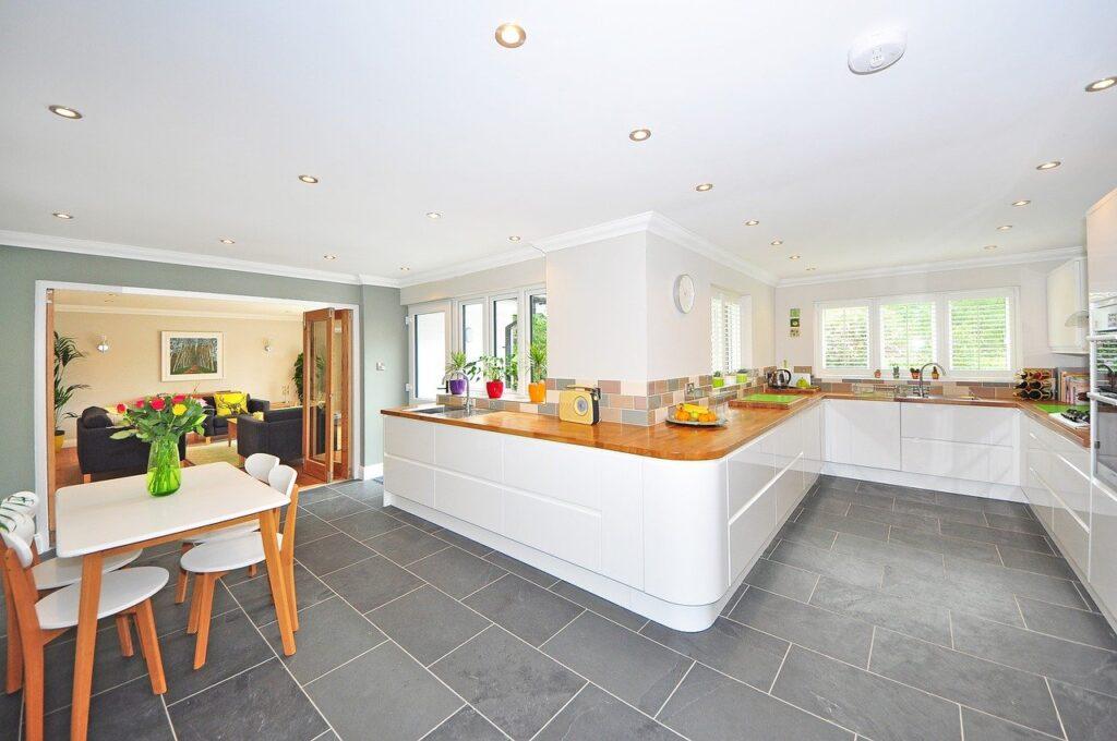 kitchen, home, luxury kitchen